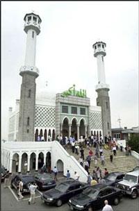 Мечеть в центре Сеула, в районе Итевона.